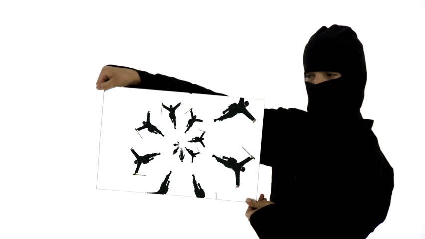 how to become a ninja videos