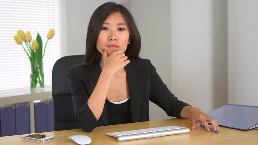 You asian lady boss Guys' stuff