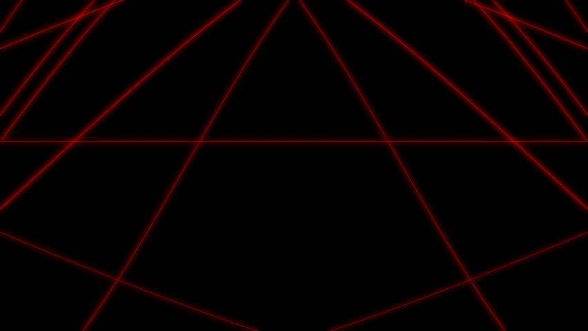 Isolated Red Laser Loop Stock Footage Video 3865184 ...