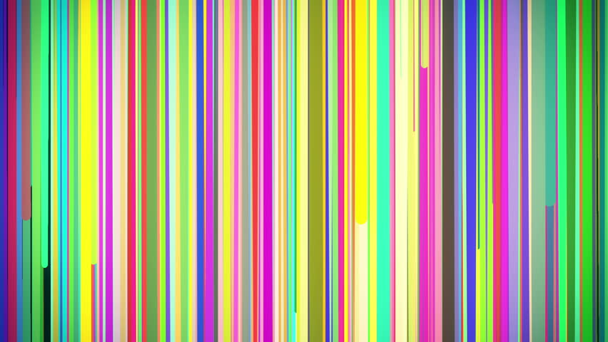 Abstract Multi Colored Vertical Stripe Background Loop ...