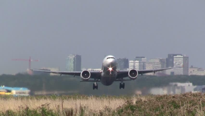 Header of airliner