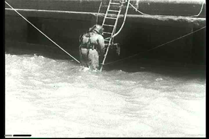 1940s - The story of the laying of underwater telephone cable under San Francisco Bay.