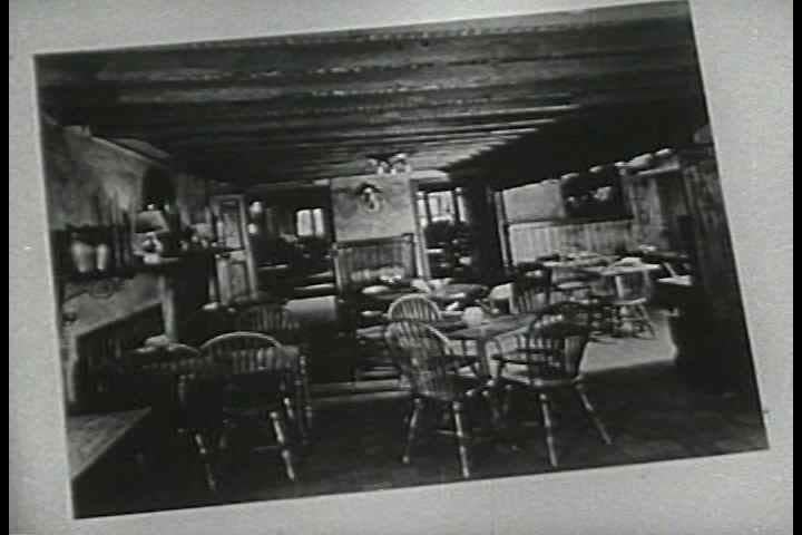 1940s - People eating montaged with Restaurant signage. Different types of Restaurants are explained in this 1946 film.