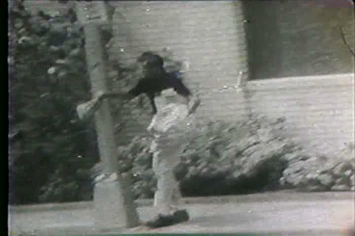 1960s - Hurricane Betsy forms in the Atlantic and threatens the coast of the US. - SD stock video clip