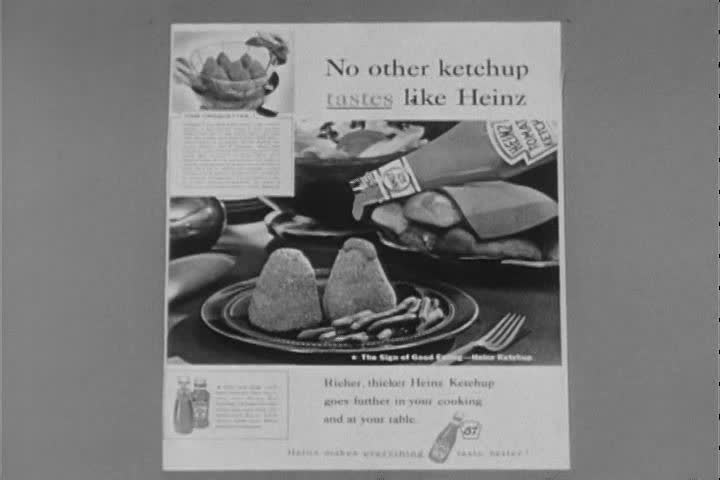 1960s - Advertising brings wonderful things to your life in the 1950s.