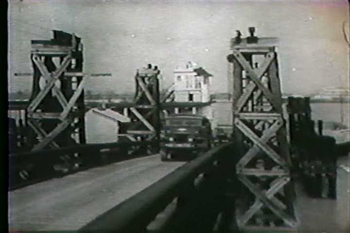 1960s - Hurricane Betsy devastates Louisiana in 1965. - SD stock video clip