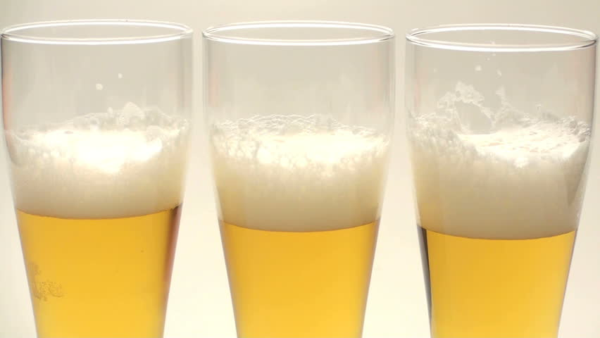 Beer top off - HD - HD stock video clip