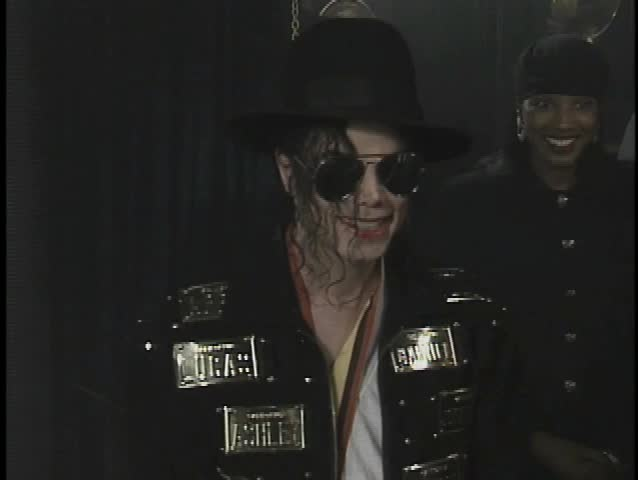 HOLLYWOOD - May 19, 1993: Michael Jackson at the Guinness Book of Records Lifetime Achievement Award Presented to Michael Jackson in the Guinness World Records Museum in Hollywood May 19, 1993