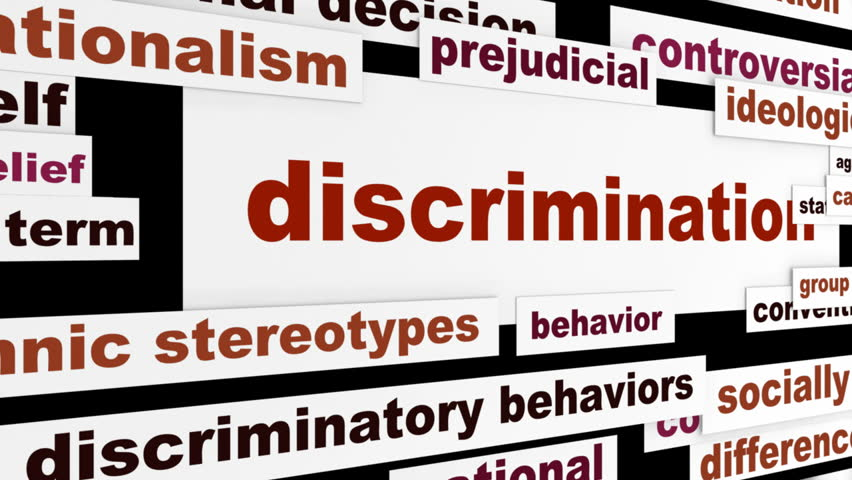 the issue of discrimination Discrimination has been an ongoing issue for people of color in america, but according to a new poll, some americans believe that white people have it just as bad.