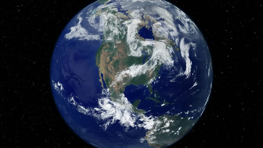 Earth From Space Stock Footage Video 4888304 Shutterstock