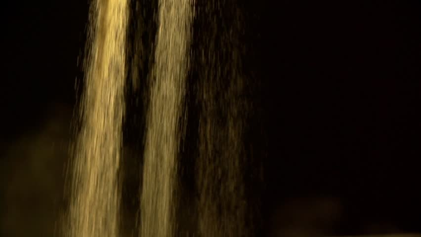 Sand Falling Slow Motion Stock Footage Video 5072558 ...