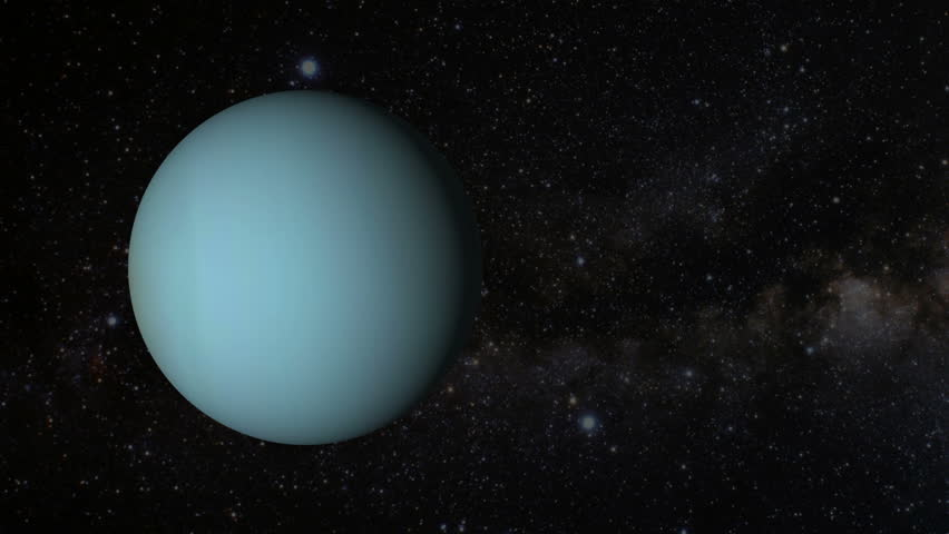 Animated One Revolution Of Planet Neptune With Correct ...