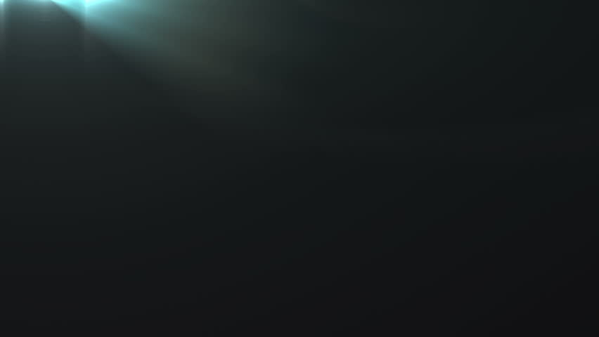 Fancy Light Effects In A Dark Background Stock Footage: Lens Flare Effect On Black Background (light House Flare
