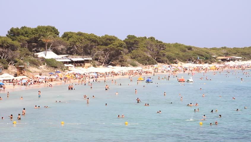 Mediterranean Beach, Las Salinas Ibiza