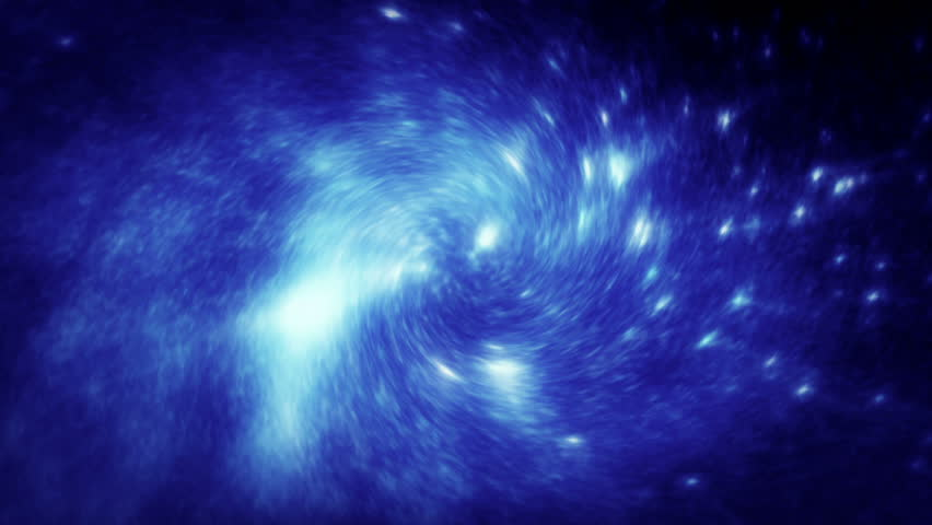 Swirling Vortex Motion Background Stock Footage. A star like cluster swirling into a Vortex ideal for a Sci-Fi motion background.