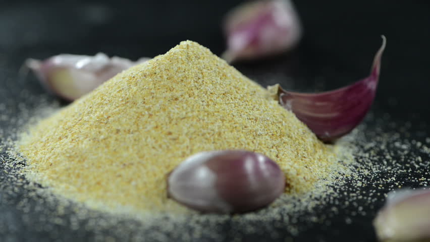 Fresh Garlic Spice as loopable full HD video