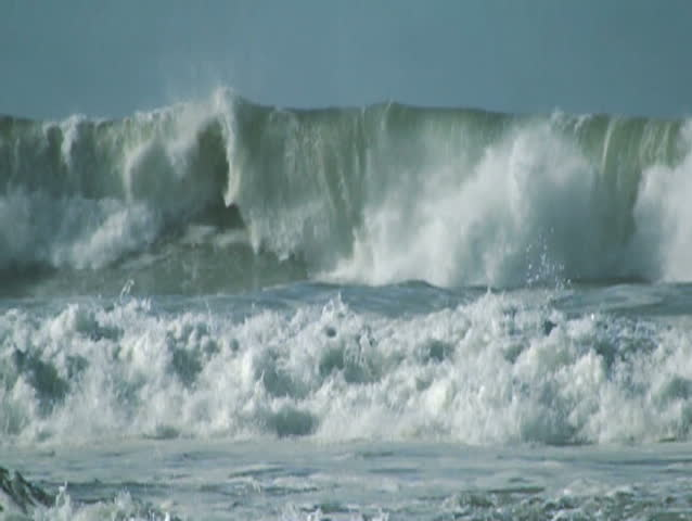 Big Wave - SD stock video clip