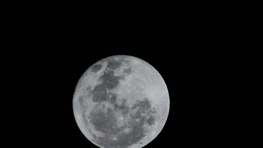 Full Moon Completes An Orbit Around The Planet Earth ...