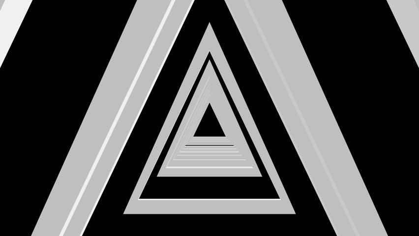 Logo Black Background White Squiggle Black Background White