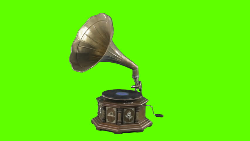 Gramophone Greenscreen