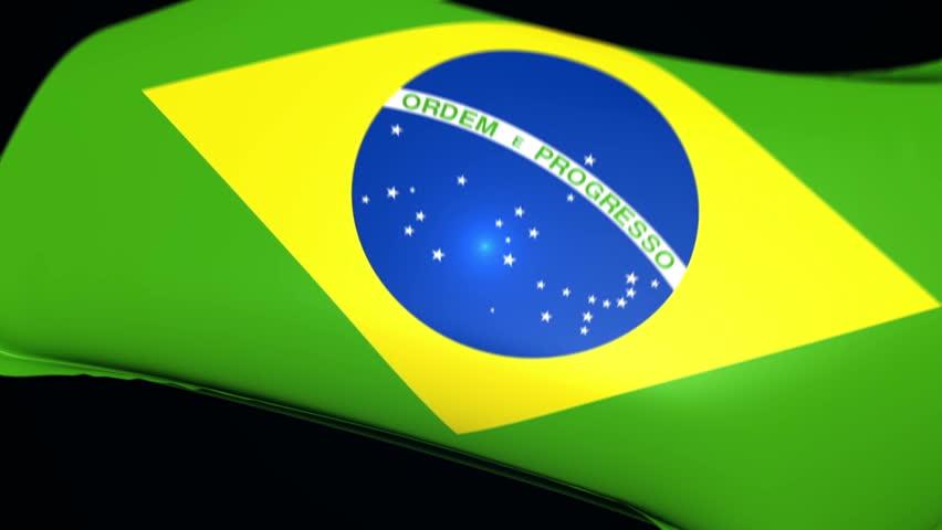 Brazil Flag wrapped over invisible heart. Comes with the Alpha Matte