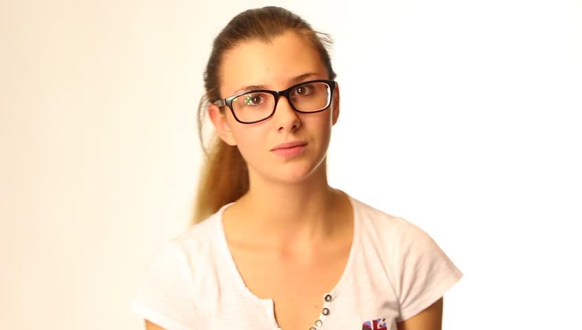 cute girl glasses wallpaper - photo #25