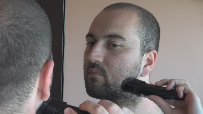 trimmer of electric shaver stock footage video 3605585. Black Bedroom Furniture Sets. Home Design Ideas