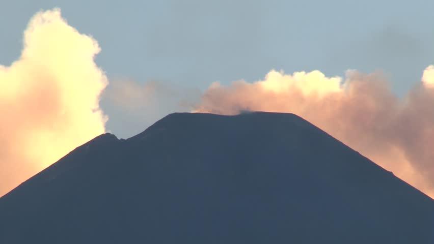 Crater volcano Etna 07/06/2014