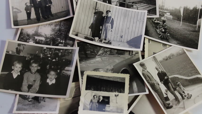 Stacking of historical photos,