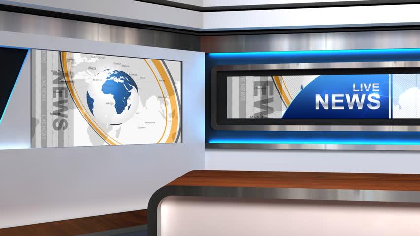 News Room Stock Footage Video Shutterstock