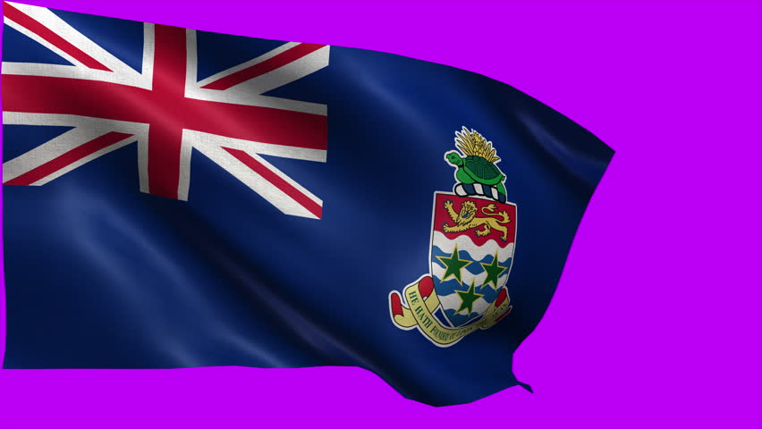 Flag of Cayman Islands, Territory of the United Kingdom - LOOP