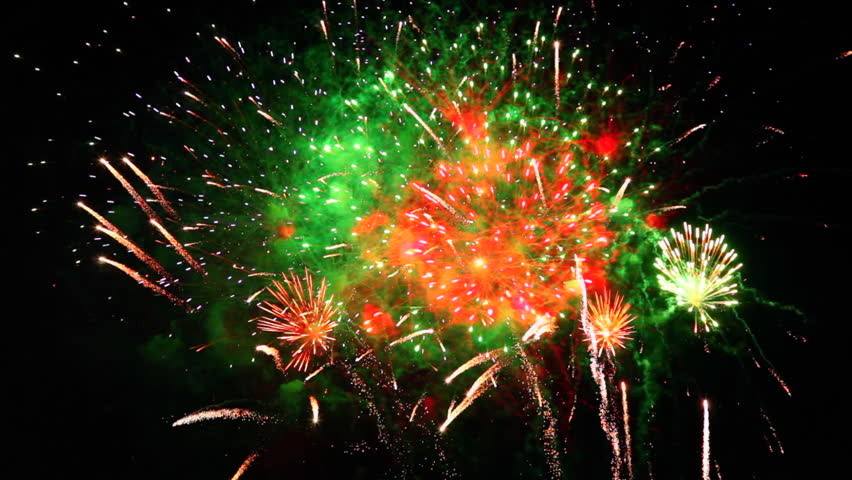 One Amazingly Colorful and Spectacular Fireworks Display!