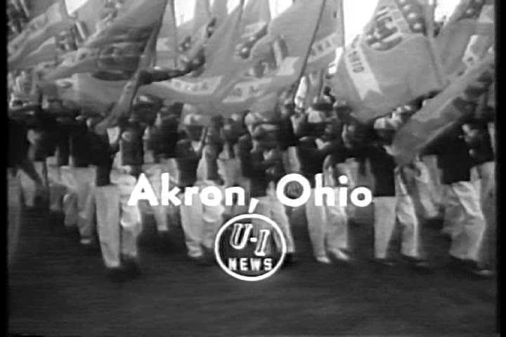 1930s The 1934 American Soapbox Derby Races In Akron