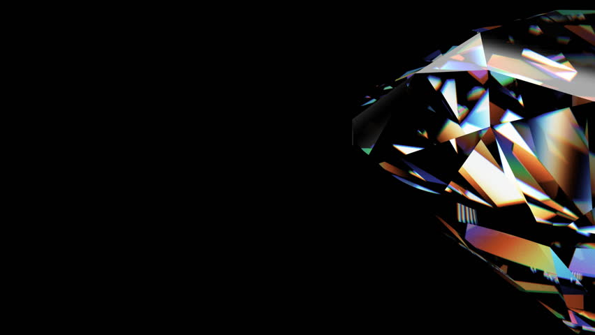Turntable With Diamond. Jewelry Background. Alpha Channel ...
