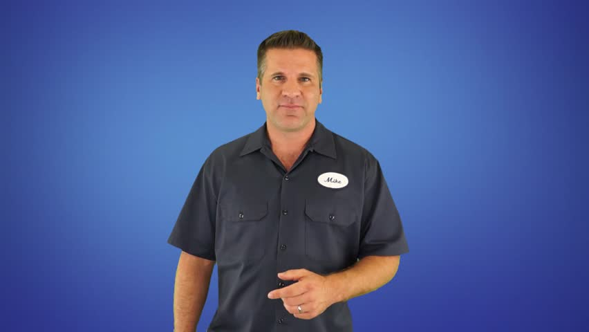 A Spokesperson Does a Generic Commercial For Any Auto Body Shop