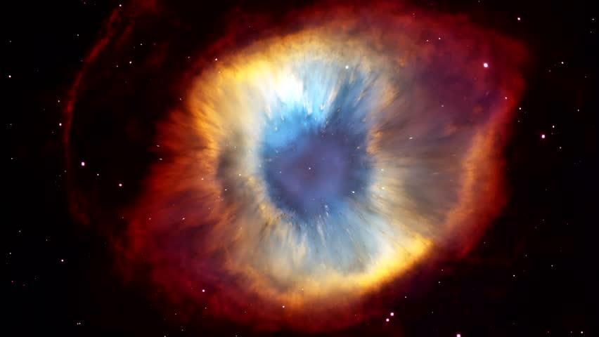 Approaching the galactic eye