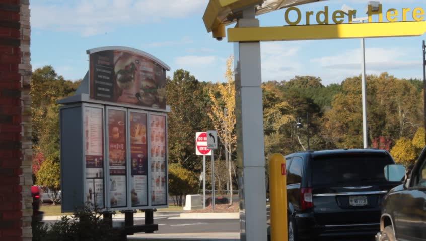 Fast Food Drive Thru Car Length