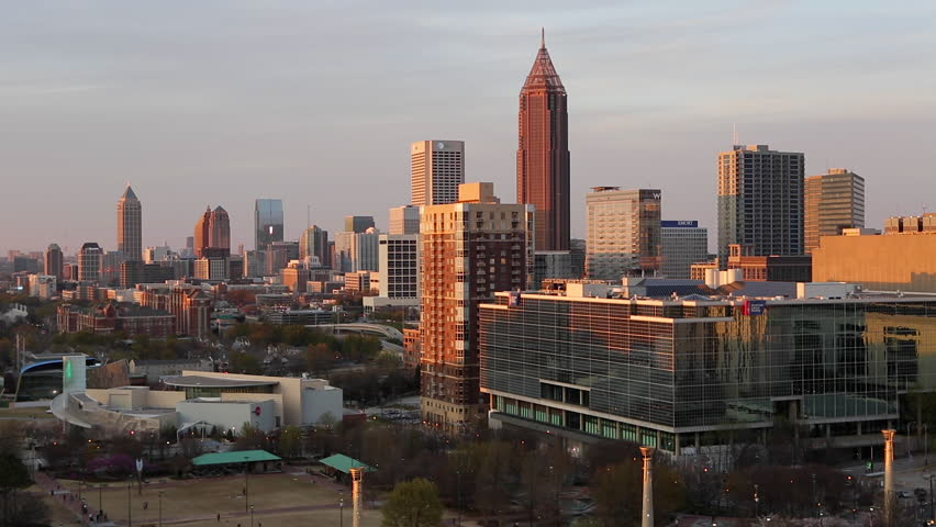 Atlanta (IL) United States  city images : ... , Atlanta, Georgia, United States of America HD stock footage clip