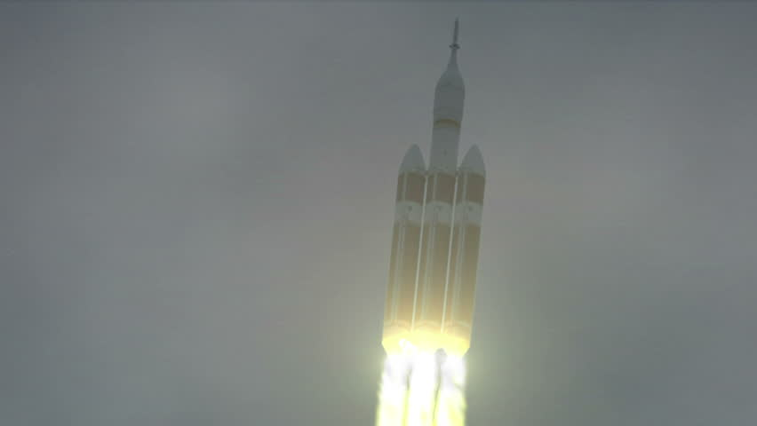 Test launch of the NASA Orion Spacecraft