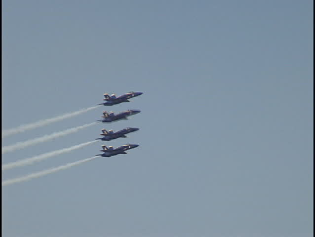 blue angels at air show