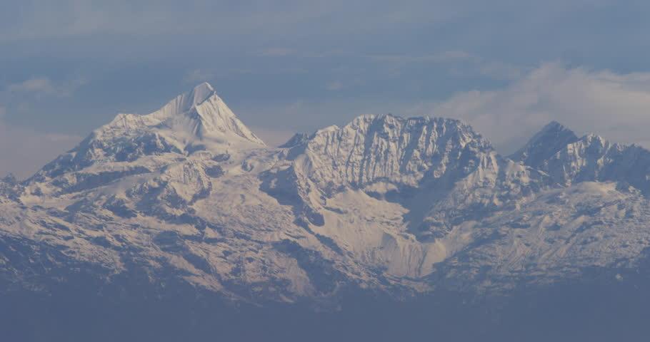View of Gan Chenpo, Urkinmang Mang, Lingsing Himal, Shishapanagma, Dome Biane, Dorje Lakpa and the Lenpo Ghang mountain range. Shot on Red Scarlet.