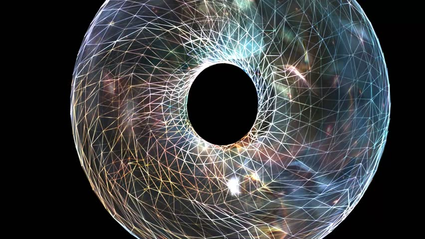Universe Cosmos Spacetime Animation: 