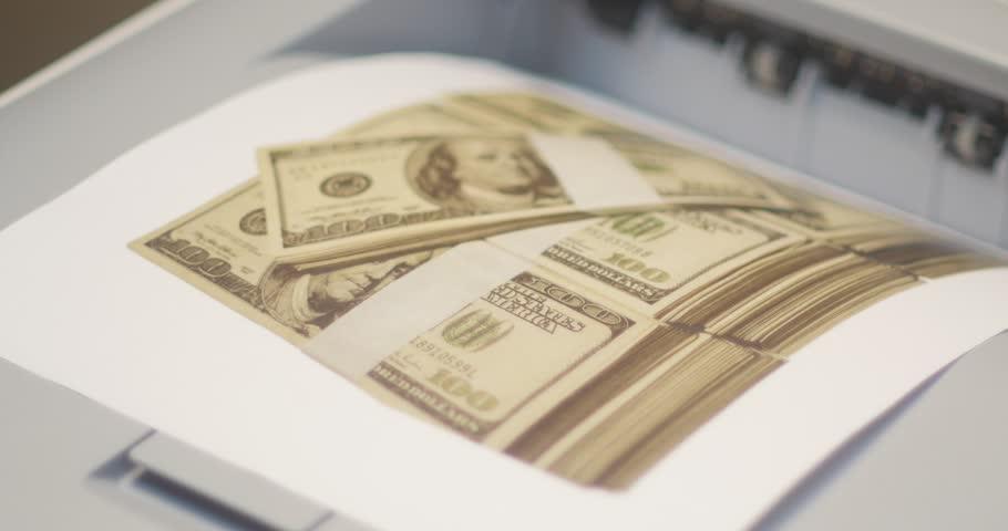 Us 20 Dollar Bill Under Uv Light Stock Footage Video – Dibujos Para