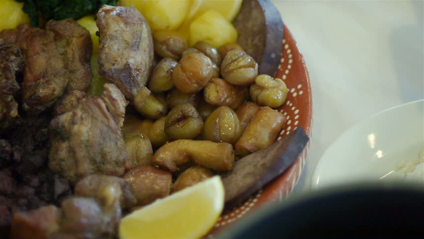 Traditional portuguese cuisine stock footage video 8171227 for Authentic portuguese cuisine