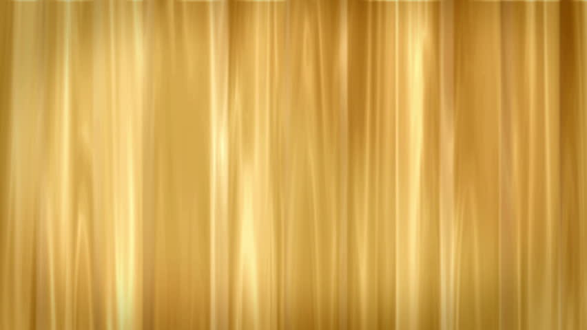 Gold stage curtains - Smooth Gold Background Loop Smokey Curtain Stock Footage