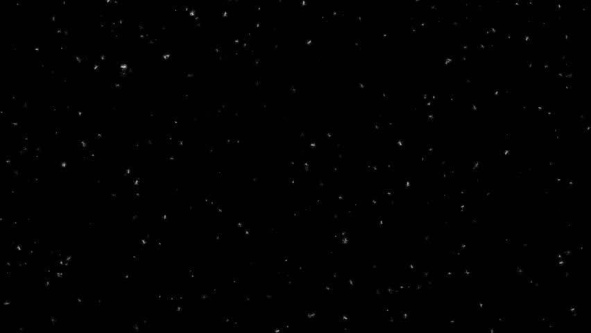 Winter Wonder Snowflakes Falling 4K  Animation Background