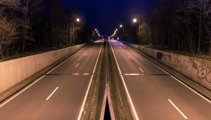 Traffic Time Lapse - Alkmaar, Holland