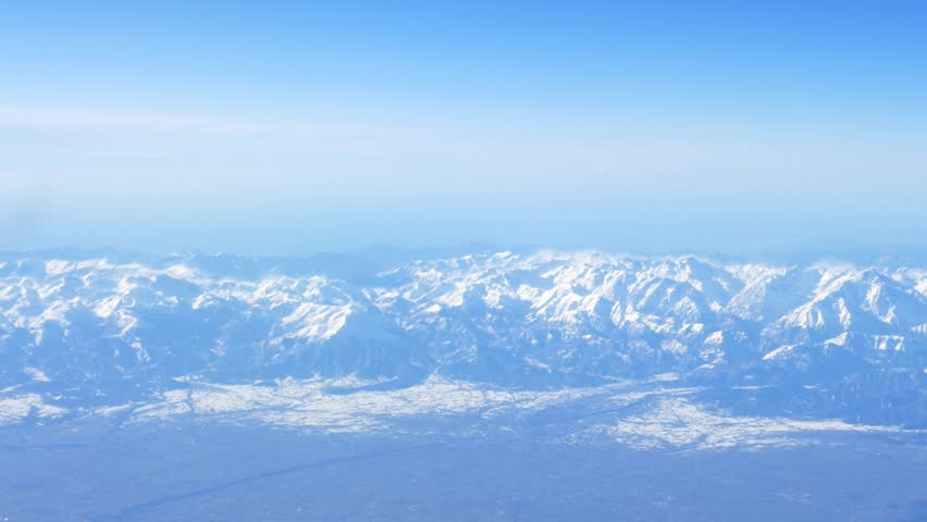 plane clouds and mountains - photo #4