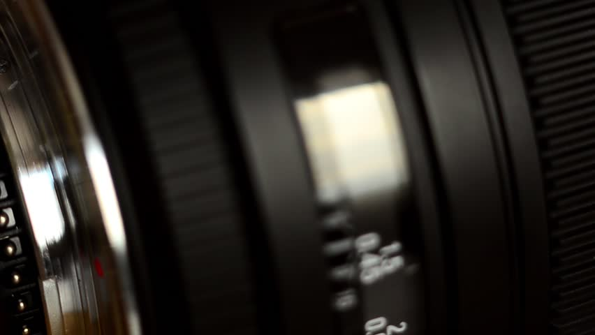 Detail of Camera lens