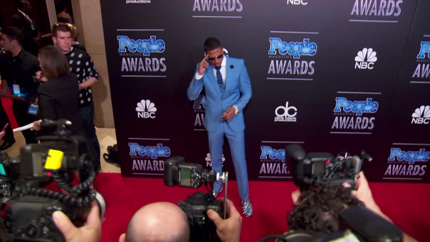 Beverly Hills, CA - December 18,2014: Nick Cannon at The People Magazine Awards 2014, Beverly Hilton Hotel